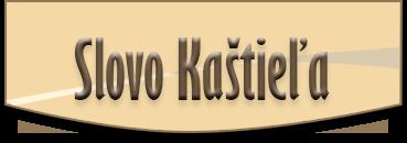 slovo kastiela