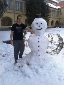Snowman by S. Špirec_1